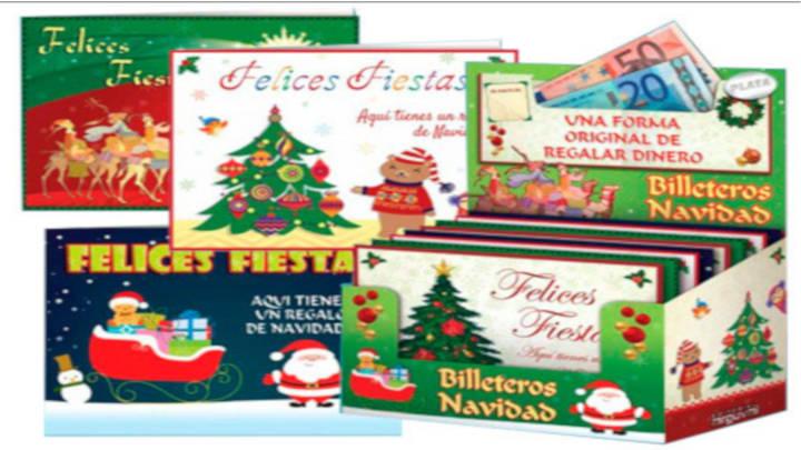 Tarjetas de felicitación y bolsas de regalo Arguval
