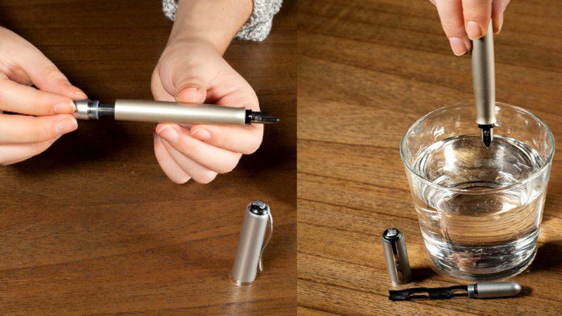 Paso a paso: Cómo limpiar una pluma estilográfica