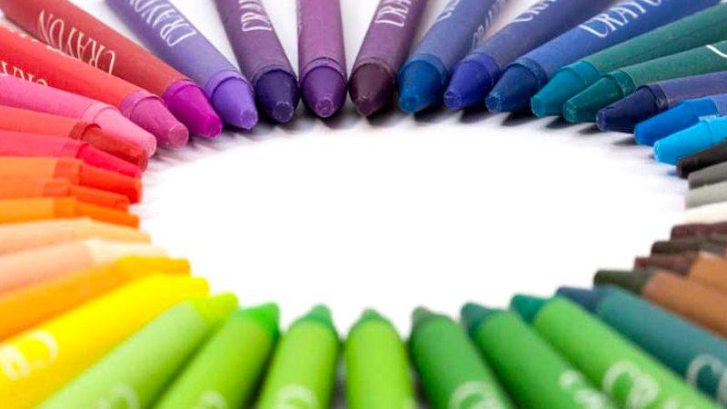 El Crayón: Una barra de cera con color