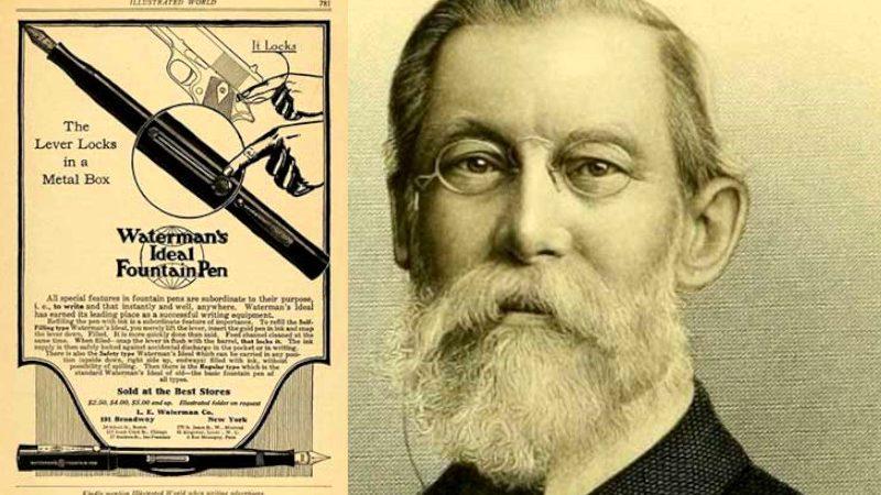 Lewis Waterman… el creador de la actual pluma estilográfica