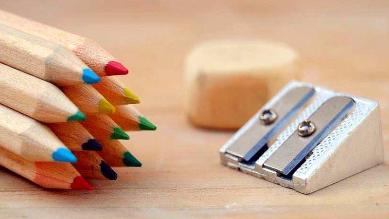 El sacapuntas: Instrumento esencial en el uso del lápiz