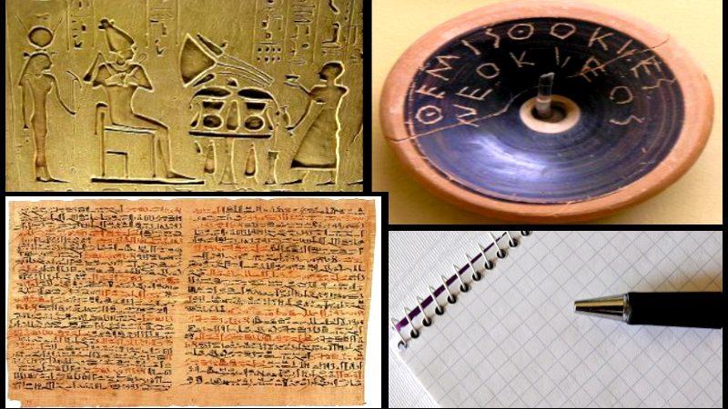 Los Soportes de la Escritura: Desde la Antigüedad hasta nuestros días